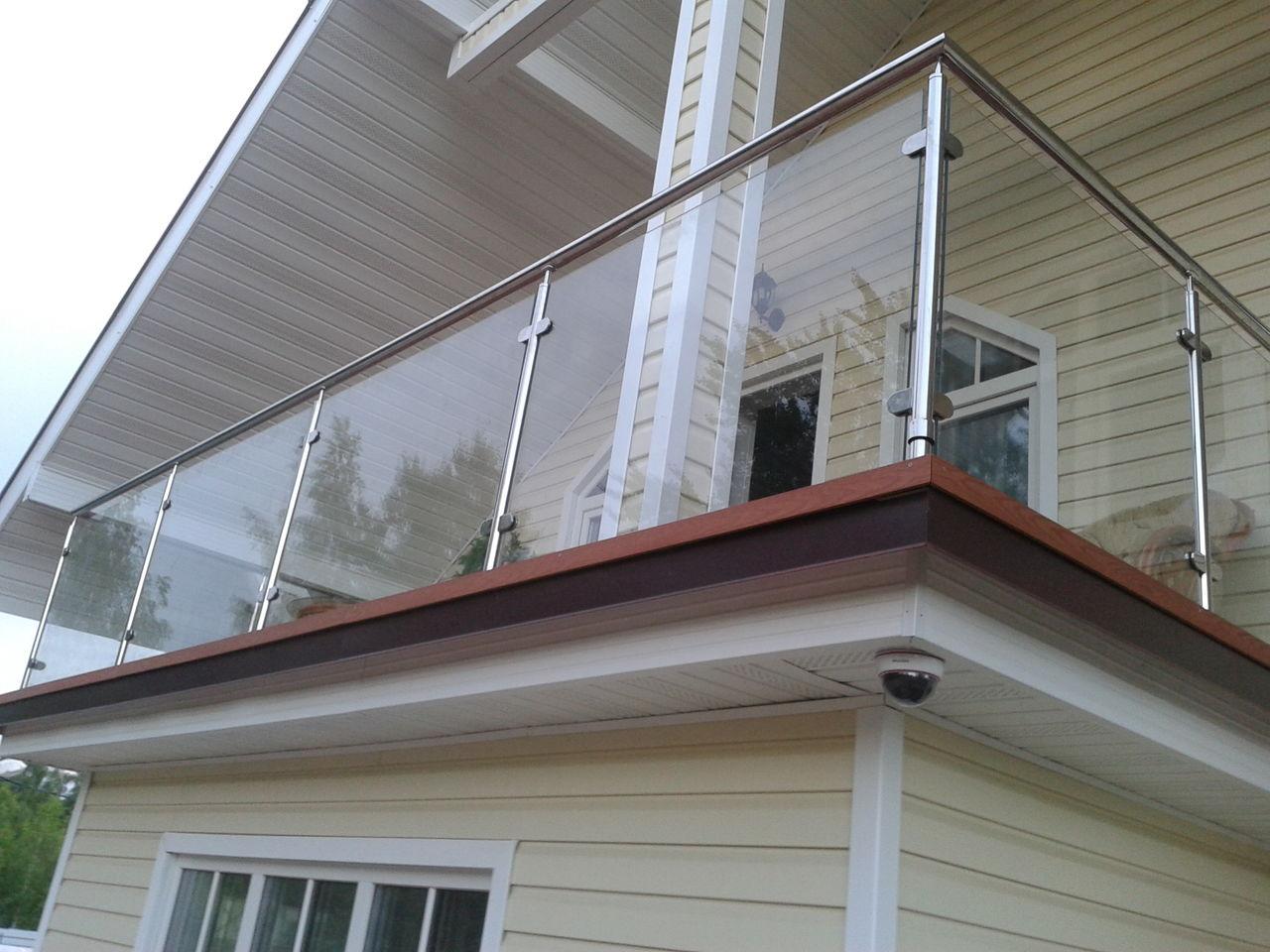 Ограждения для крыши из нержавеющей стали